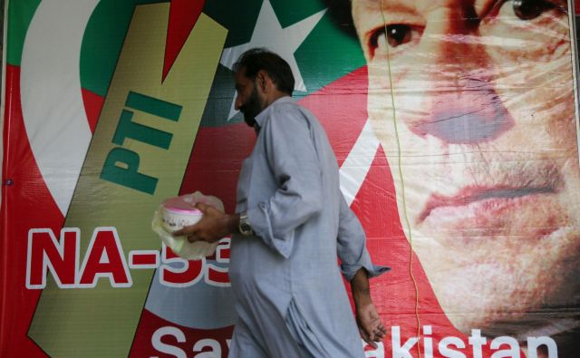 Imran Kan, novi vladar Pakistana.<br /> FOTO REUTERS