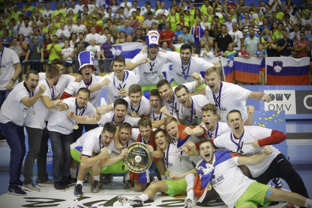 FOTO:Slovenci postali mladinski evropski prvaki
