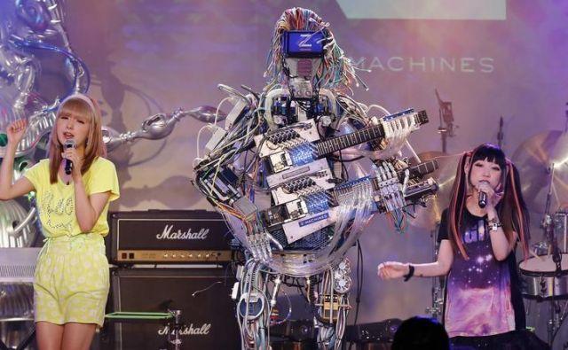 Koncert robotov Foto Reuters