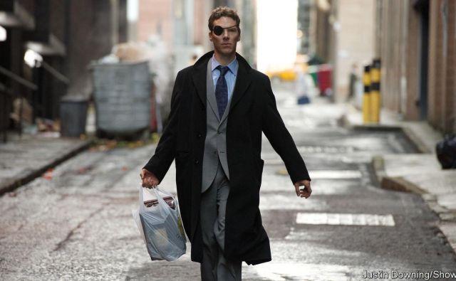 Patrick z očetovo žaro v vrečki pohajkuje po New Yorku. FOTO: Promocijsko gradivo