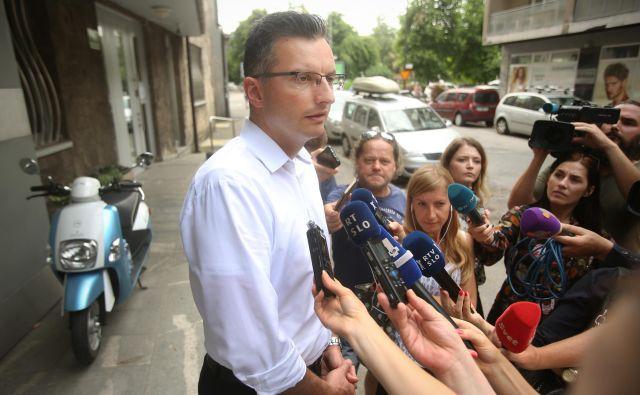 Marjan Šarec je za zdaj sicer še odločen, da ga vodenje manjšinske vlade ne zanima. FOTO: Jure Eržen
