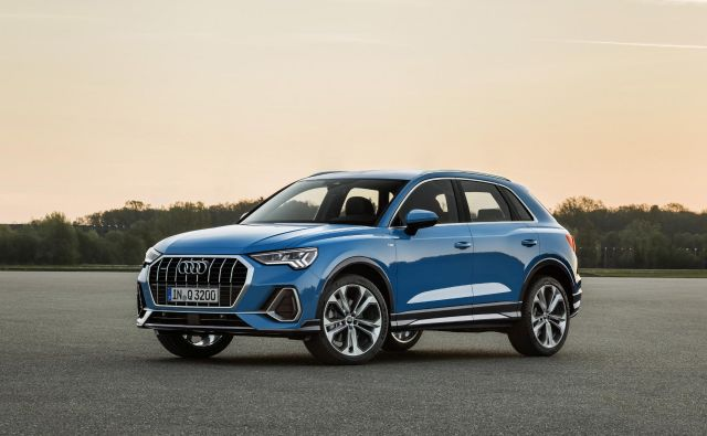 Povsem novi audi Q3 druge generacije. FOTO: Audi