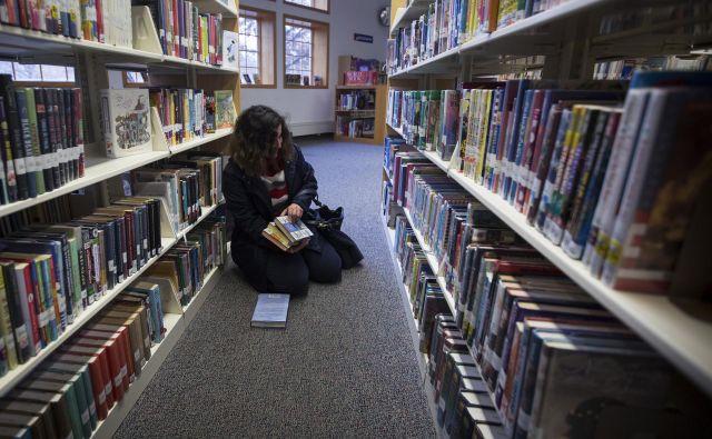 Leta 2016 so imele ameriške javne knjižnice 171 milijonov registriranih uporabnikov, ki so opravili 1,35 milijarde obiskov. FOTO: Reuters