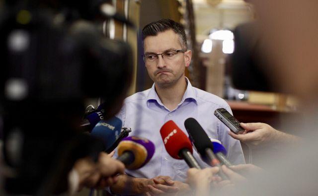 Marjan Šarec ne izključuje manjšinske vlade. FOTO: Voranc Vogel/Delo