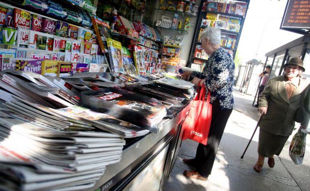 Kaj bo prinesla združitev Dnevnika in Večera za prodajo njunih edicij?FOTO: Roman Šipić/Delo