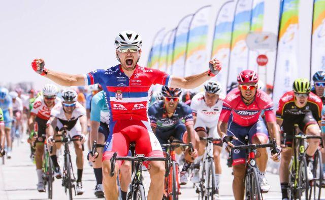 Dušan Rajović je dobil 10. etapo dirke okrog jezera Qinghai na Kitajskem.