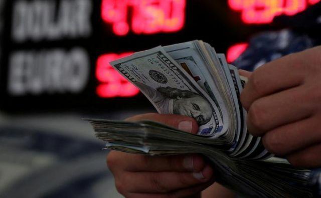 Ameriški dolarji Foto Reuters