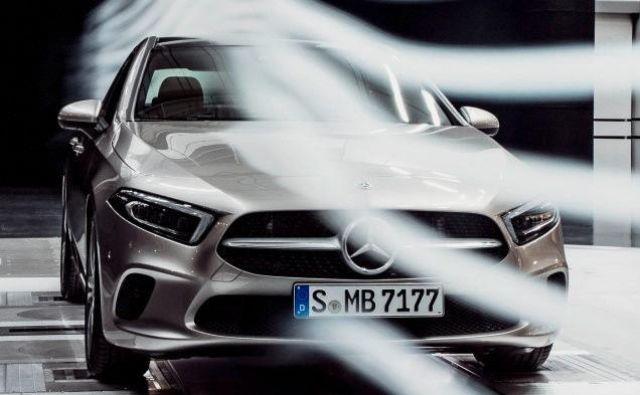 Aerodinamična limuzina razreda A. FOTO: Daimler