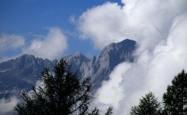 Strela je udarila na Veliki planini. FOTO: Blaž Samec