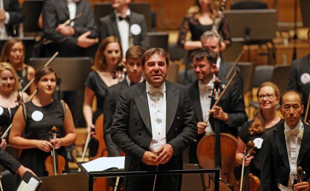 Daniele Gatti je slovenskemu občinstvu znan, saj je s Concertgebouwom gostoval že na predlanskem 64. Ljubljana Festivalu. FOTO: Tomi Lombar/Delo