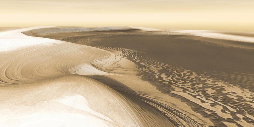 Vode ni na Marsu, morda pa je v njem