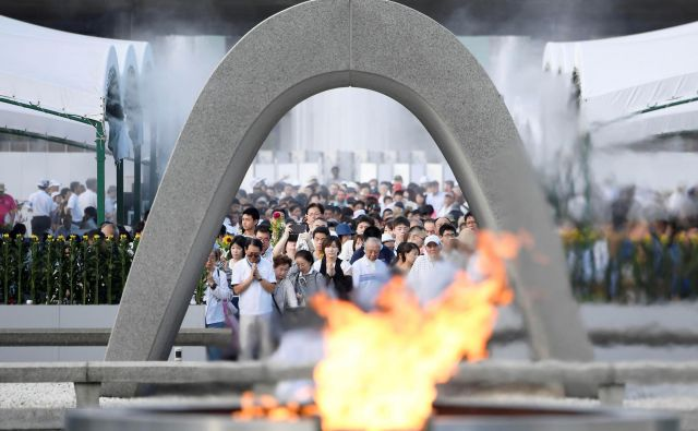 Japonska uradno nima jedrske bombe. FOTO: Reuters
