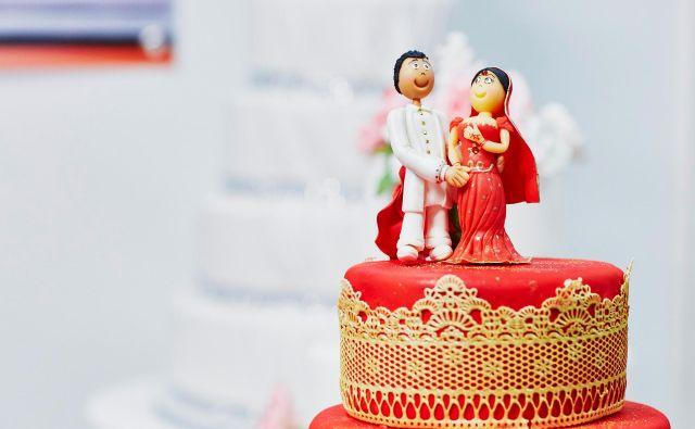 Povprečna starost ženina se je od leta 1970 zvišala za šest let, starost neveste pa za 7 let. FOTO: istockphoto
