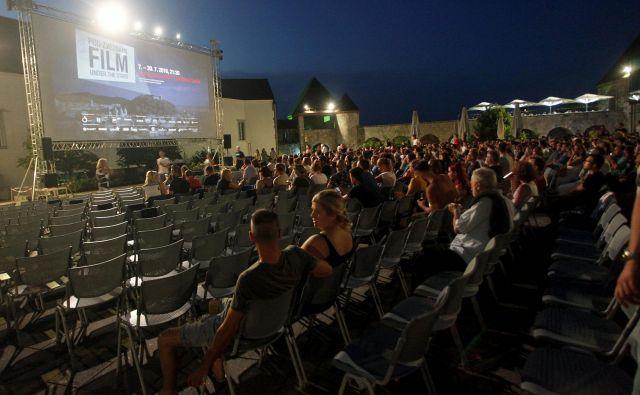Javni zavod Kinodvor je za letni kino prejel 11 tisočakov. FOTO: Mavric Pivk