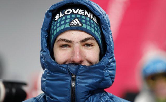 Timi Zajc kot edini Slovenec drži stik s svetovnim vrhom. FOTO: Matej Družnik/Delo