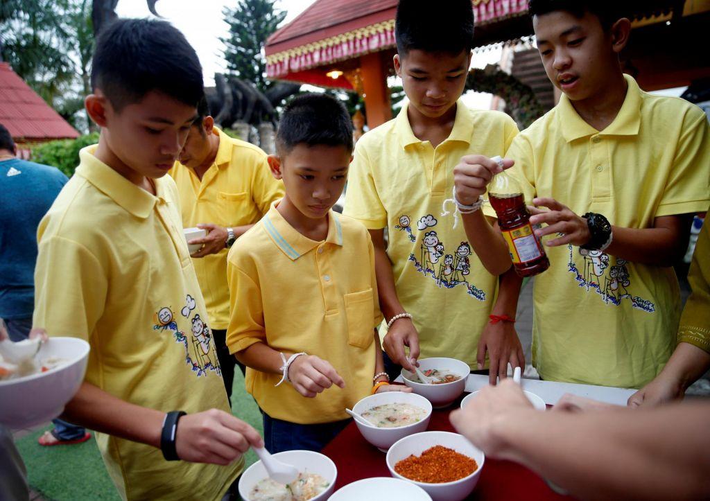 Tajskidečki so se vrnili v šolske klopi