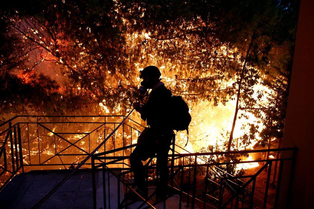 FOTO:Gozdni požari, naša nova realnost