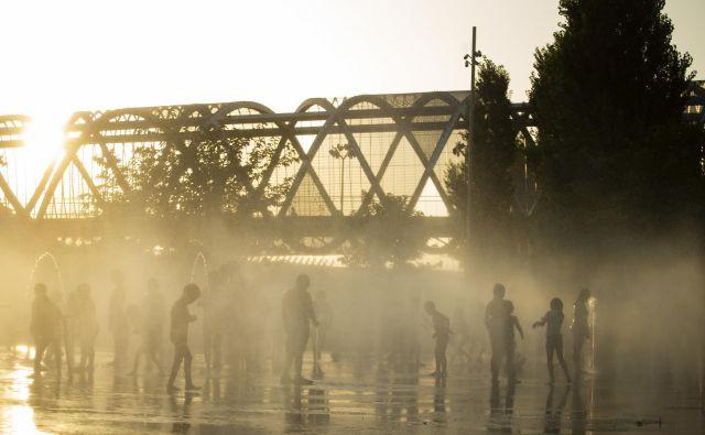 Temperature v Španiji so se sicer danes po več dneh v večjem delu države spustile pod 40 stopinj Celzija. FOTO: AP