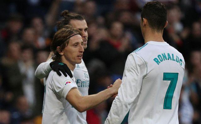 Luka Modrić bo ob zajetni povišici očitno ostal v Madridu. FOTO: Reuters