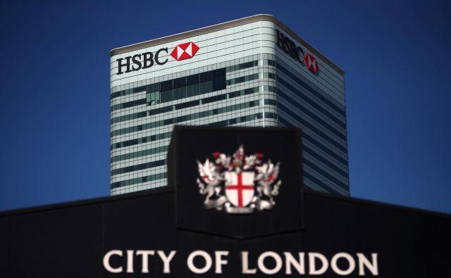 HSBC bo svoje evropske posle iz Londona prenesla pod »pravni dežnik« v Parizu. FOTO: Reuters