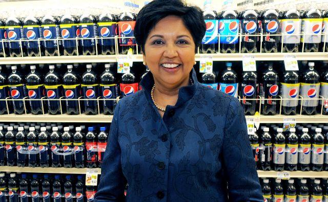 Indra Nooyi spada med najvplivnejše poslovne ženske na svetu. FOTO: Reuters