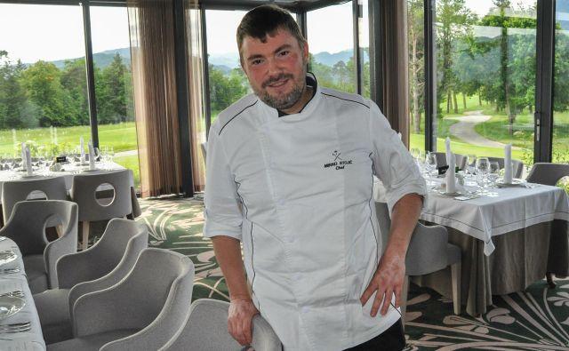 Mirko Stojić – srbski chef na blejskem golfišču<br /> FOTO Uroš Mencinger