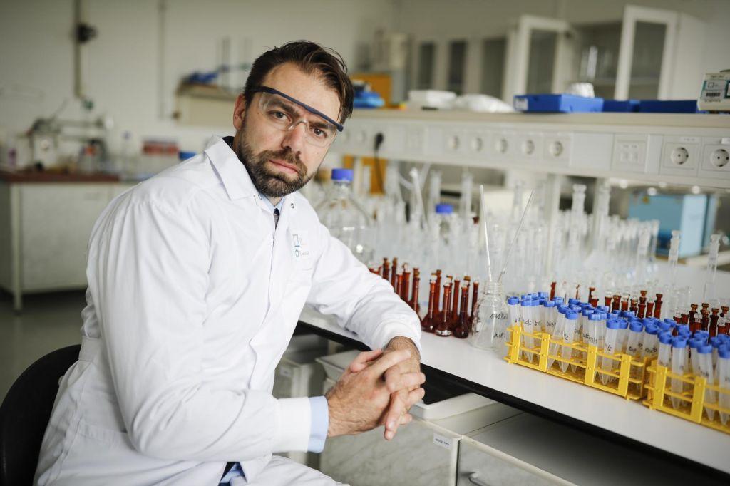 FOTO:Želijo biti eden glavnih igralcev pri analitiki v farmacevtiki