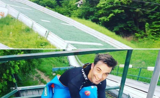 Ernest Prišlič bo skakal tudi v Franciji.