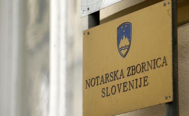 Vse stranke zaprte notarske pisarne se lahko za pojasnila o njihovih zadevah obrnejo na Notarsko zbornico Slovenije.FOTO: Mavric Pivk