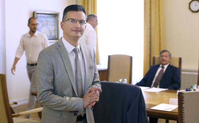 Če bo Marjan Šarec postal mandatar, ima največ petnajst dni časa po izvolitvi, da vloži predlog kandidatur za svojo ekipo. FOTO: Blaž Samec/Delo