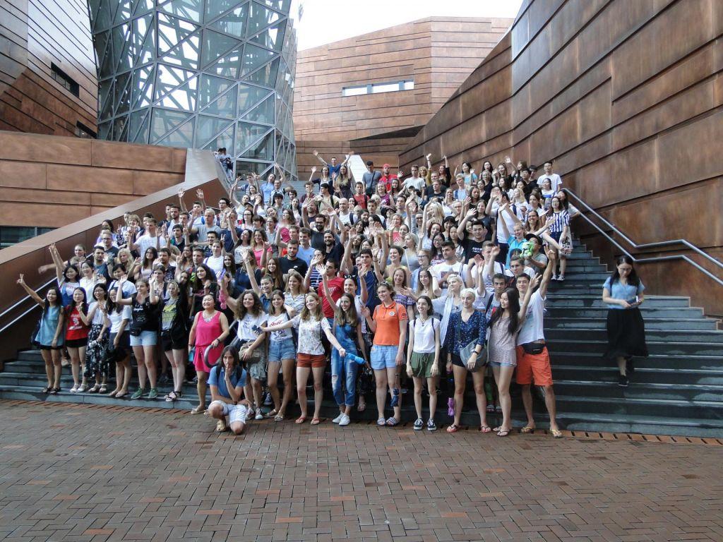 Slovenski dijaki na poletni šoli v Šanghaju