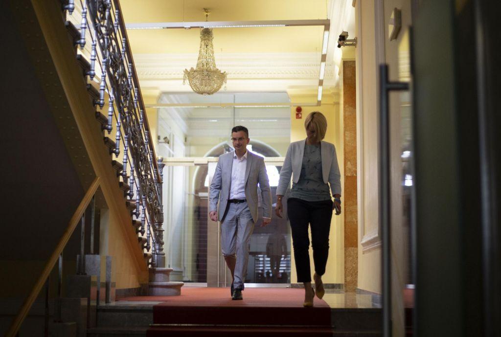 Od srede do srede: Markeš in Stojanov o nastajanju koalicije