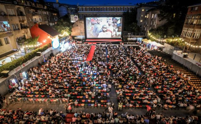 Festival vsako leto privabi v Sarajevo veliko ljubiteljev filma. FOTO: arhiv festivala