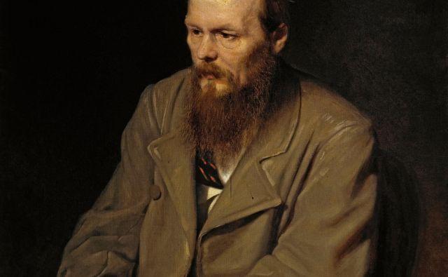 Dostojevski na portretu slikarja Vasilija Perova iz leta 1872, zbirka Tretjakovske galerije v Moskvi. FOTO: Wikipedia