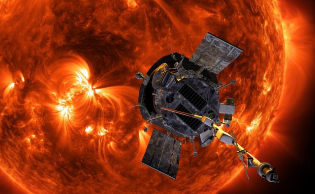 Sonda Parker bo bližje Soncu kot katerokoli drugo plovilo človeške izdelave, saj bo razdalja le 6,2 milijona kilometrov. FOTO: Nasa