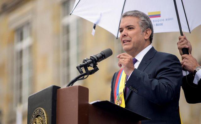 Pred novim predsednikom Kolumbije je veliko izzivov. FOTO: AFP
