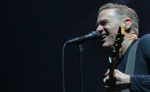 Bryan Adams je v Ljubljani nazadnje ob 30-letnici svojega ikoničnega albuma <em>Reckless</em>nastopil leta 2014. FOTO: Ljubo Vukelič/Delo