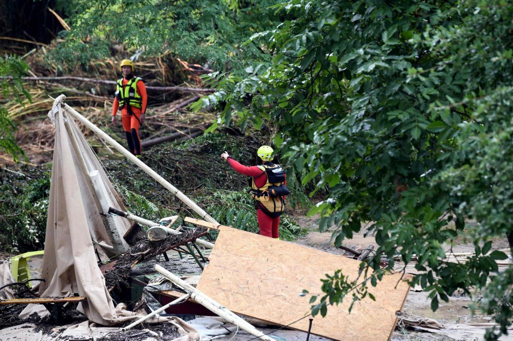 FOTO:Po vročinskem valu hude poplave (FOTO)