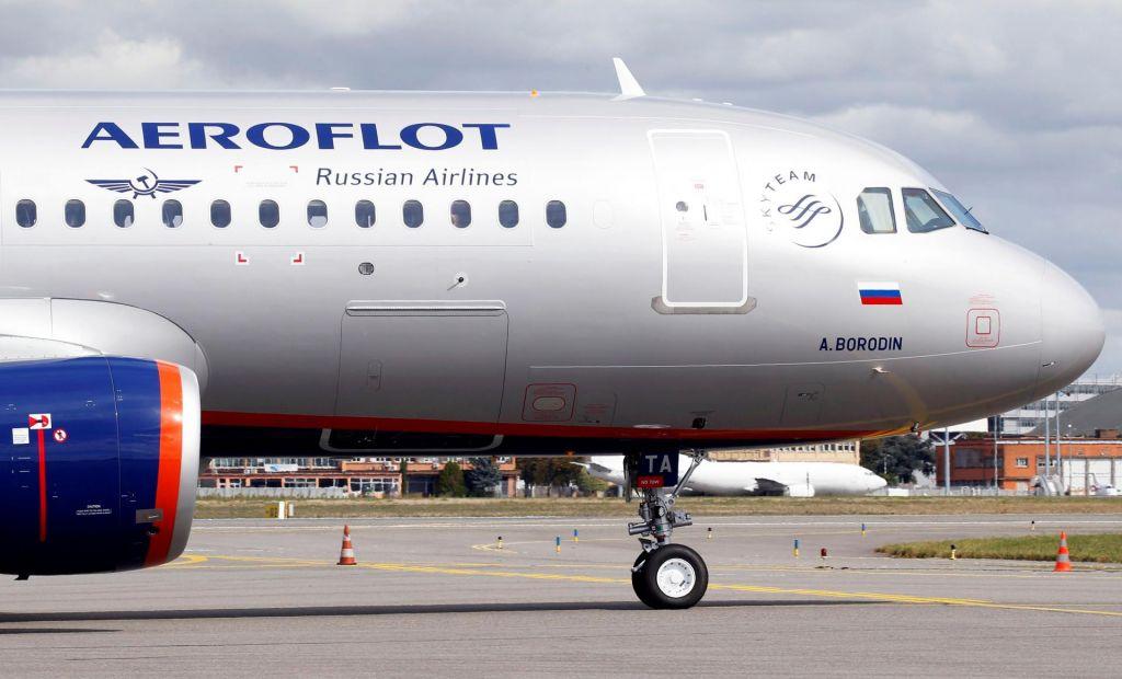Na ljubljansko letališče naj bi prišel ruskinacionalni prevoznik Aeroflot