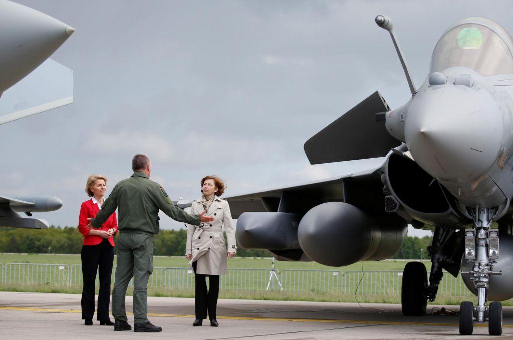 Nemški denar za francoske bombe?