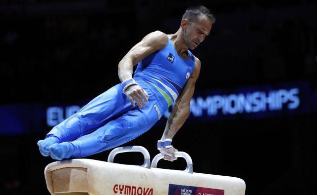 Sašo Bertoncelj je vpisal svoj najboljši dosežek z evropskih prvenstev. FOTO: Darko Bandić/AP