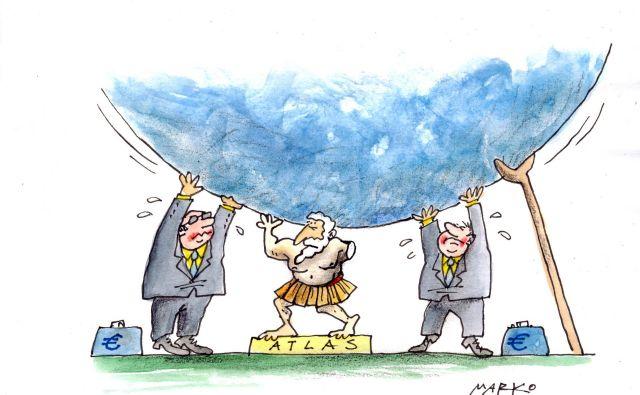 Grška kriza. FOTO: Marko Kočevar