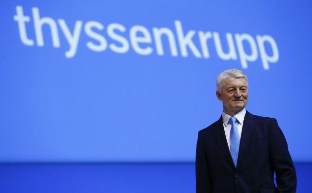 Jeklarski velikan vidi rešitev za boljše poslovanje v kadrovski zamenjavi na vrhu. Foto Reuters