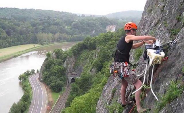 Bi likali na nevarni višini? Foto Ap