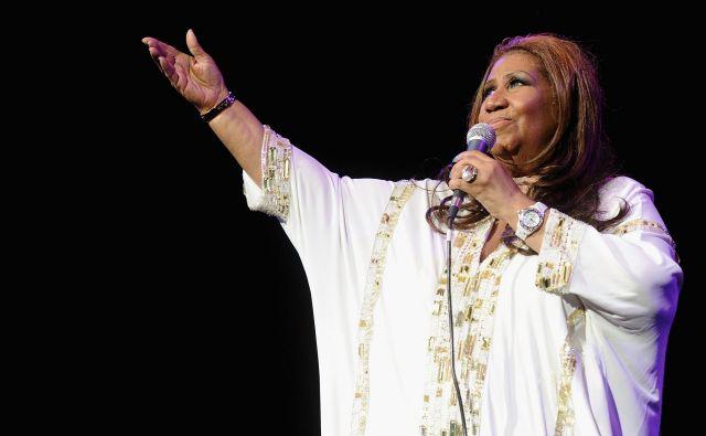 Pevka, znana po uspešnicah, kot sta <em>Respect</em> in <em>I Say a Little Prayer</em>, ima že več let zdravstvene težave. FOTO: AFP