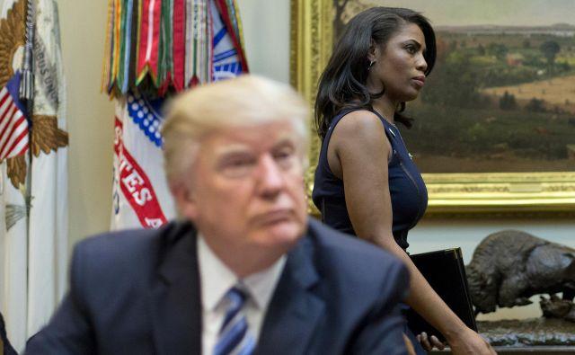 Trumpova nekdanja varovanka v zadnjih dneh uspešno draži svojega mentorja. FOTO: AP