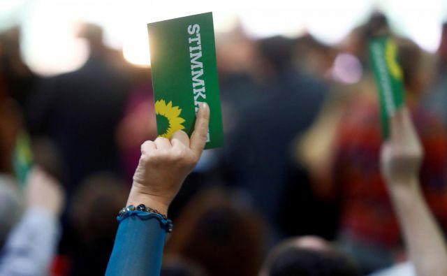 Zeleni pridobivajo tudi na Bavarskem. FOTO: Reuters