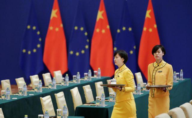 Evropske države sumijo, da je v ozadju prevzemov politično vodstvo v Pekingu. očitke o protekcionizmu zavračajo. FOTO: Reuters