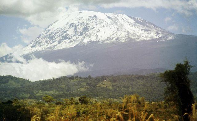 Kilimandžaro leta 1985. FOTO: Viki Grošelj