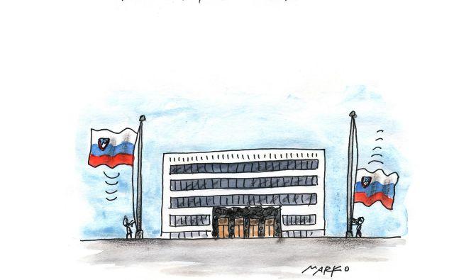 Levo gor, desno dol. INFOGRAFIKA Marko Kočevar